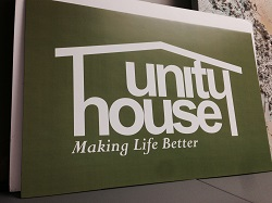 Unity House sign